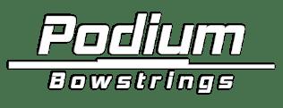 Podium bowstrings logo